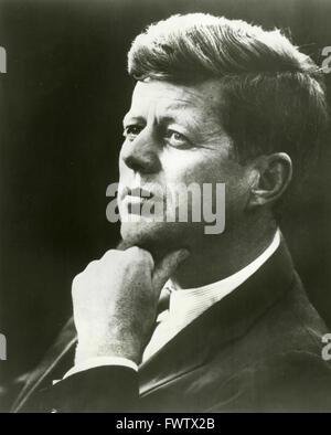 The American President John F. Kennedy - Stock Photo