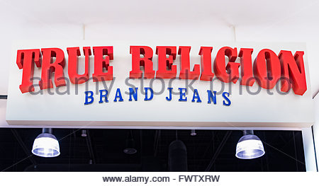 What stores sell true religion clothes