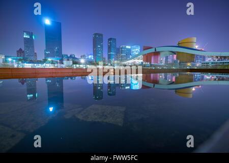 Shenzhen skyline - Stock Photo