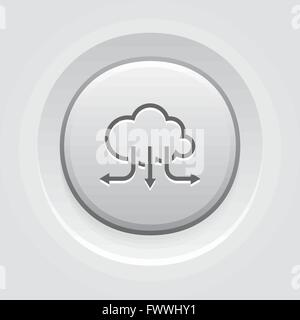 Accelerate Your Cloud Icon. Business Concept - Stock Photo