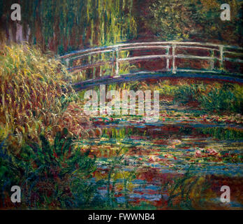 water lily pond symphony in green 1899 painted by claude monet musee stock photo 18399512 alamy. Black Bedroom Furniture Sets. Home Design Ideas