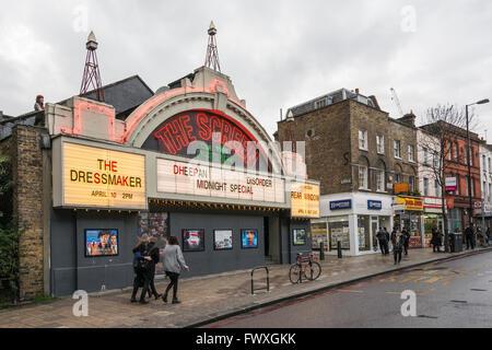 Exterior of the Screen on the Green cinema on Upper Street, Islington, London, UK - Stock Photo