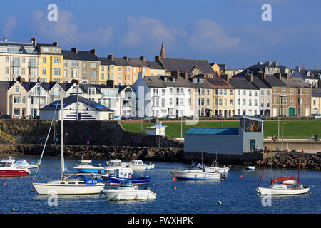 Harbour, Portrush, County Antrim, Ulster, Northern Ireland, Europe - Stock Photo