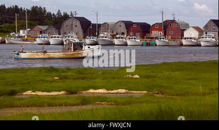 Malpeque Prince Edward Island Fishing Boats In Malpeque