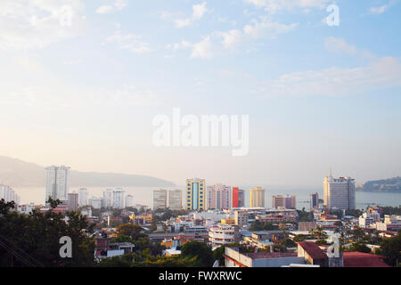 Mexico, Acapulco, Cityscape on sunny day - Stock Photo