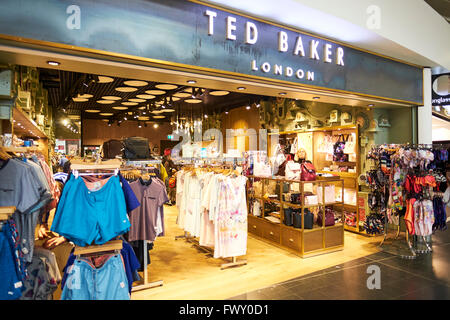 8820634c1 Ted Baker Clothing Duty Free Shop North Terminal Gatwick Airport West  Sussex London UK - Stock