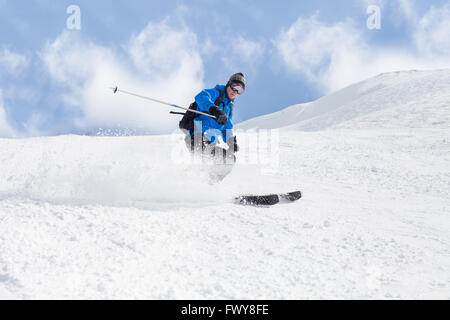 skiing - Stock Photo
