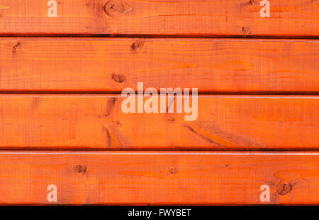 Texture of four red wood planks wall. - Stock Photo