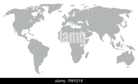 World map vector stock vector art illustration vector image blue technology colors illustration graphic vector world map grey for different purpose stock photo gumiabroncs Images