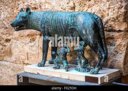 The Capitoline Wolf - Stock Photo