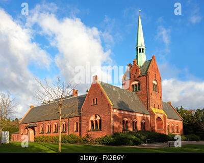 North Chapel In Vestre Cemetery Located In Copenhagen Denmark - Where is copenhagen located