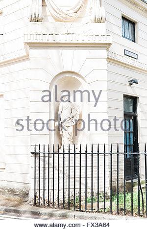 London Hannover Gate, Regents Park - Stock Photo