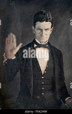 John Brown, American abolitionist - Stock Photo