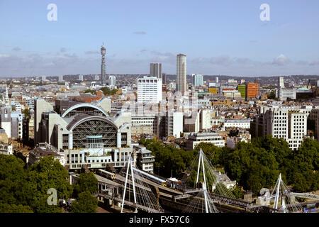 London panoramic, England, United Kingdom - Stock Photo