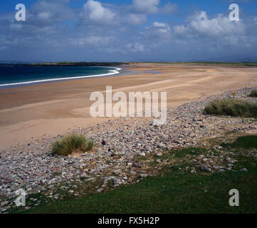 Doogort Beach, Achill Island, County Mayo, West Coast of Ireland - Stock Photo