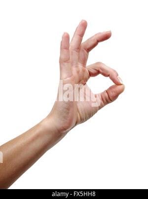 a ok hand gesture stock photo 310406040 alamy