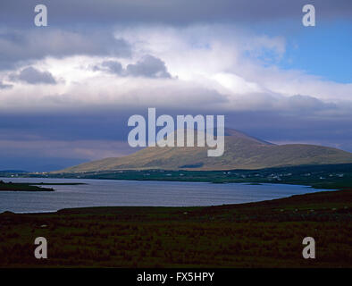 Achill Sound, sea between Achill Island and County Mayo mainland, West coast of Ireland - Stock Photo