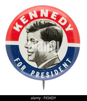1960 John F. Kennedy for President Campaign Button