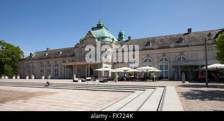 Kaiserpalais, spa gardens, Bad Oeynhausen, Weser Uplands, North Rhine-Westphalia, Germany - Stock Photo