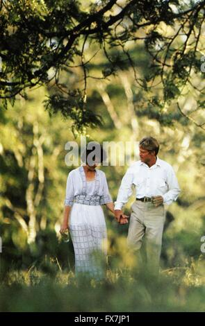 Out of Africa Year : 1985 USA Director : Sydney Pollack Meryl Streep, Robert Redford - Stock Photo