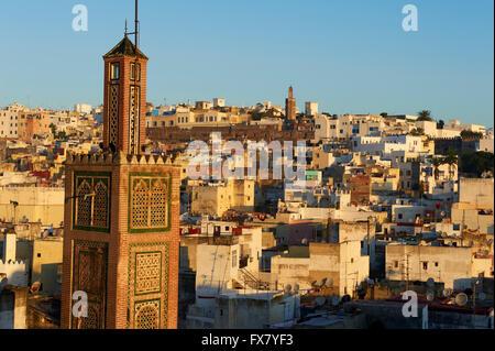 Morocco, Tangier, Medina, old city - Stock Photo