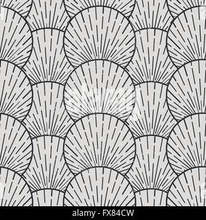 Seamless Vector Pattern. Seamless geometric  pattern, vector illustration - Stock Photo