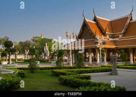 Wat Ratchanatdaram Bangkok Thailand - Stock Photo