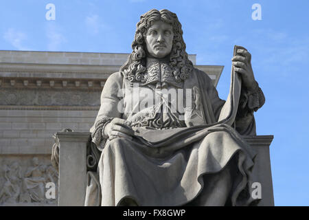 Jean-Baptiste Colbert (1619-1683). French politician. Minister of Finances 1665-1683 under the rule of King Louis - Stock Photo