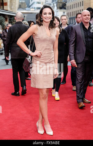 The European premiere of FLORENCE FOSTER JENKINS on 12/04/2016 at ODEON Leicester Square, London. Pictured:  Laura - Stock Photo