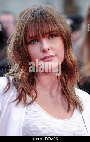 The European premiere of FLORENCE FOSTER JENKINS on 12/04/2016 at ODEON Leicester Square, London. Pictured:  Rebecca - Stock Photo