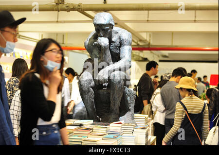 Nanjing, Nanjing, CHN. 9th Apr, 2016. Nanjing, CHINA - April 9 2016: (EDITORIAL USE ONLY. CHINA OUT) Librairie Avant - Stock Photo
