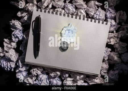 Composite image of a paper which is offending - Stock Photo