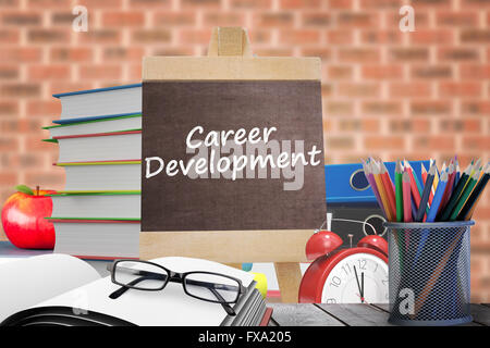 Composite image of career development word - Stock Photo