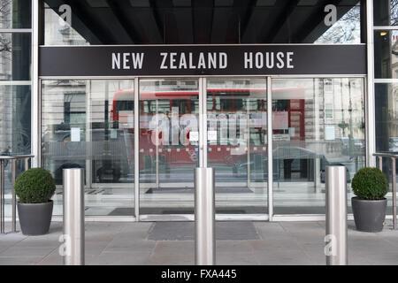 New Zealand House, Haymarket, London, England - Stock Photo