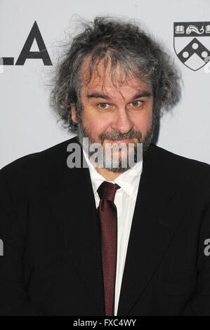 Beverly Hills, CA, USA. 13th Apr, 2016. 13 April 2016 - Beverly Hills, California - Peter Jackson. Arrivals for - Stock Photo