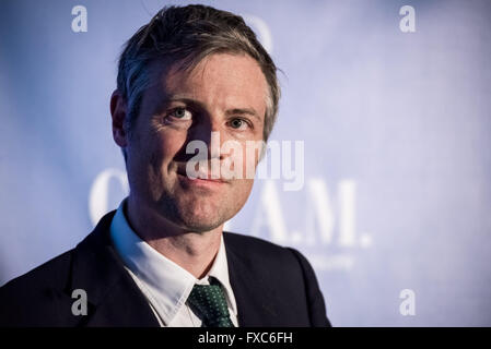 London, UK. 12th April. London Mayoral Election Debate at The Institute of Directors with Conservative candidate - Stock Photo