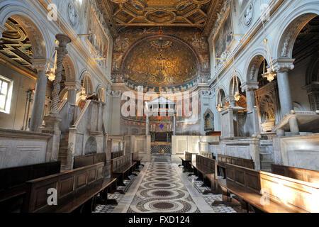 italy, rome, basilica di san clemente - Stock Photo