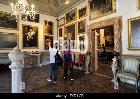 italy, rome, palazzo spada, galleria spada art gallery - Stock Photo