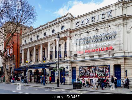 The Garrick Theatre, Charing Cross Road, London, UK - Stock Photo