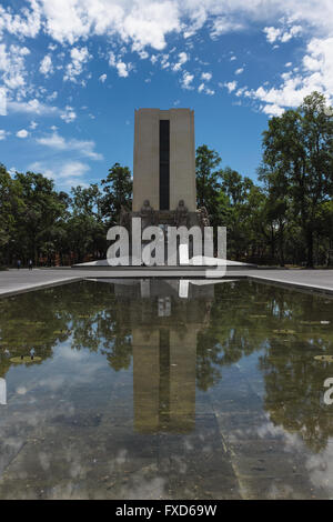 Monumento Alvaro Obregon, Mexico City - Stock Photo