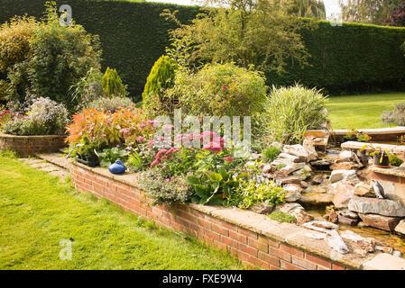 small retaining wall Stock Photo: 122405427 - Alamy