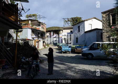 TURKEY Antakya, Musa Dagh, former armenian village Hidirbey, about 4000 armenian villagers from seven villages fled - Stock Photo