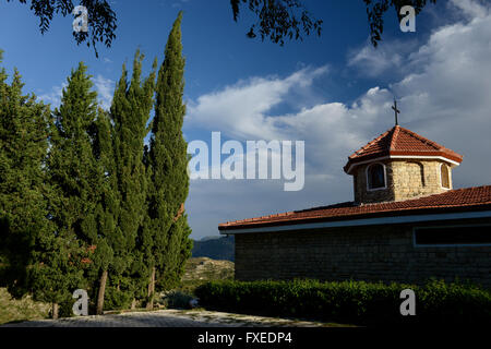 TURKEY Antakya, Musa Dagh, armenian village Vakifli, armenian church, about 4000 armenian villagers from seven villages - Stock Photo