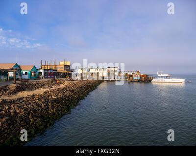 Sandwich Harbour, Walvis Bay, Erongo Region, Namibia - Stock Photo