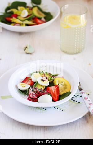 Fresh healthy salad - Stock Photo