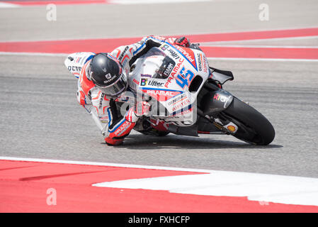 Scott Redding of Octo Pramac Yakhnich seen during the 2016 Red Bull Grand Prix of the Americas at Circuit of the - Stock Photo