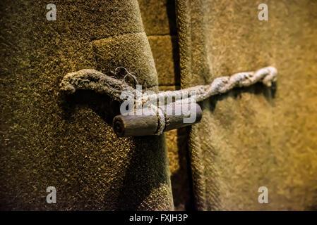 Coat fastenings - Stock Photo