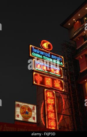 Chinatown in Bangkok - Thailand - Stock Photo