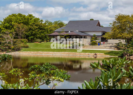 Morikami Museum and Japanese Gardens, a centre of Japanese arts and culture, Delray Beach, Palm Bach County, Florida - Stock Photo