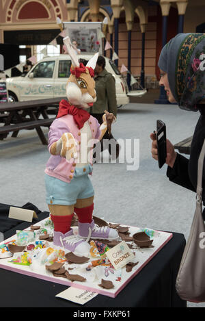 London, UK 16 April, 2016. Cake Show International at Alexandra Palace copyright pmgimaging/Alamy Live News - Stock Photo